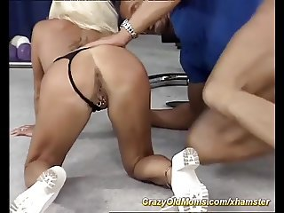 skinny muscle mon needs a strong young cock