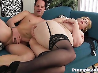 Anally fucked bbw loves doggystyle sex