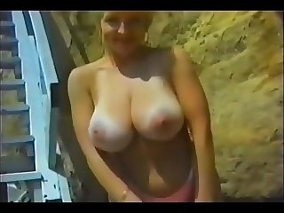 Vintage Mature Exhib Natural Boobs 2