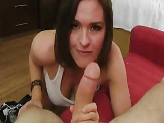 POV Busty Neighbor stops by