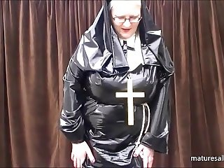 What does a nun wear under her habit!!!!
