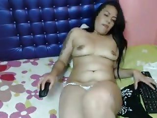 Latina saggy tits webcam tease