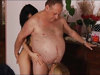 She Loves Old Men-4 ,cut 1(#grandpa #old man #dad)