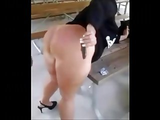 Mature PAWG gets BBC load in her big pussy at the park