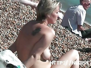 Some Beach Ladies from this year nudist summer