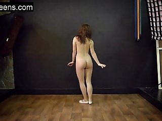 Teen hot flexible model
