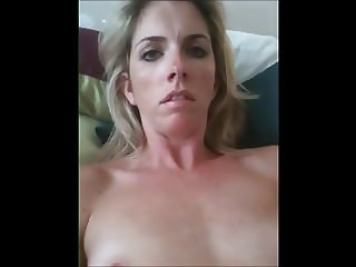 MILF Talks Dirty Masturbates and Cums