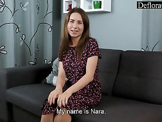 Masturbation of hot Nara
