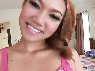 Would you blow your load inside this Thai girl?