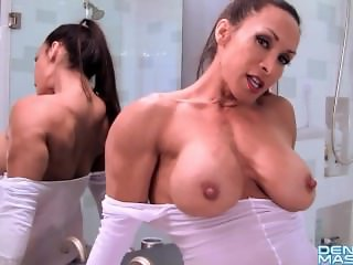Denise Masino - All Your Milk Money Video - Female Bodybuilder