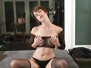 Slim Shorthaired Amateur Shows Off, Strips And Fucks Herself