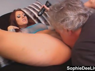 Sophie Dee Commands You to Lick Her Sweet Wet Pussy