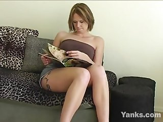 Yanks Brunette Dana Dallas Gets Dirty