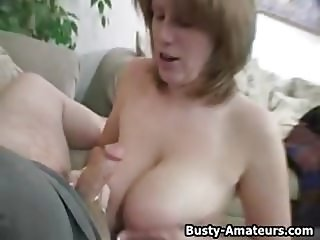 Busty amateur Lisa on hot POV