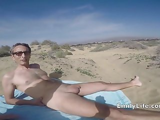 bukkakeat the beach and 80 guys on livecam for the voyeurs