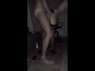 Wife fucks in front of her husband 2