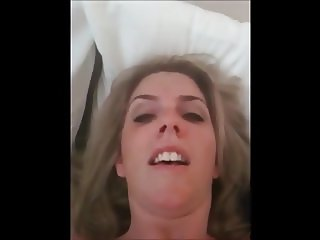 MILF slut talks dirty while masturbating 2