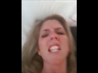 MILF Slut talks dirty while masturbating