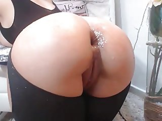 Incredible Body, Anal Dildo Ride