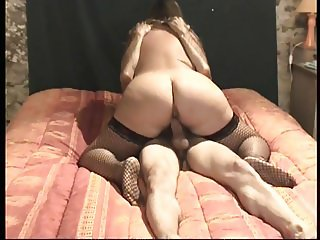 SUZI the whore with the perfect arse riding a cock