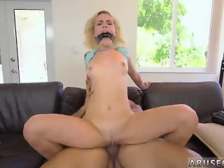 Girl shaving Kimberly Moss gets handled