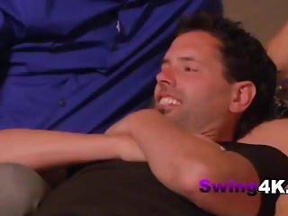Swinger party plays sex games all night