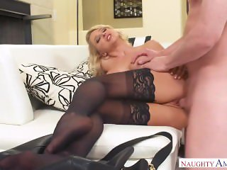 Alix Lynx Gets Fucked In Lace Underwear