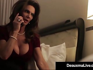 Busty Texas Cougar Deauxma Fucks Her Hotel Room Service Guy!
