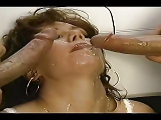 Peter North's great cumshot #24
