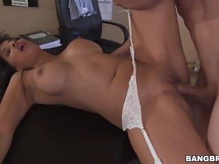 Office Fucking with Mercedes Carrera