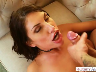 Busty August Ames Gets Titty Fucking