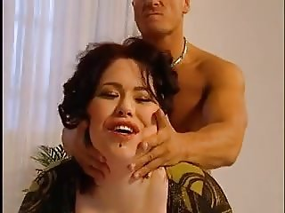 Busty BBW gets pounded by a fit stud