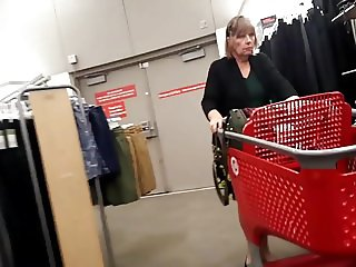 Granny shopping legs