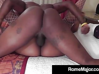 Black Stallion Rome Major Bangs Ebony Cherise Rozys Wet Cunt