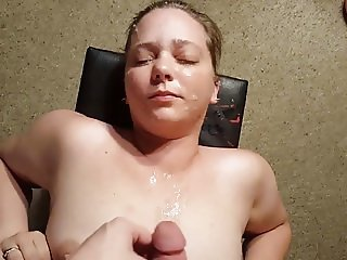 Huge Facial Cumshot  Big Load