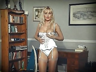 EROTIC STRANGER - stocking blonde strip dance