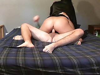 Amateur couple fucking, and orgasm.