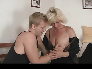 HD Doggy fucking Old Blonde Woman