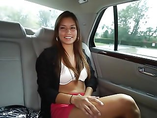 Gorgeous Latina Pay Sex for a Ride. JL