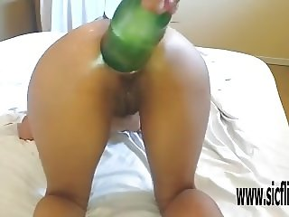 Extreme anal fisting and bottle insertions