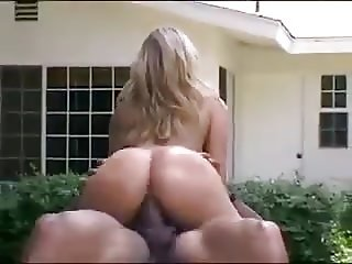 Monica Sweetheart black cocks blowbang