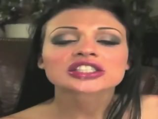 ALETTA OCEAN Swallowing Compilation