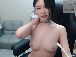 Korean BJ Hottie Masturbate For You