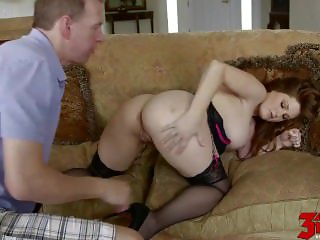 Busty Teen Allison Moore Railed