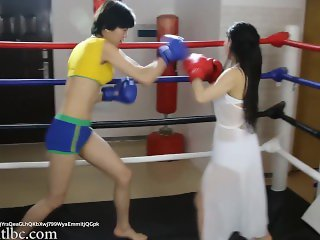 Wrestling 0024; Chinese Girl Boxing