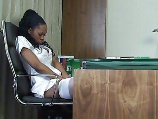 Ebony Nurse Claudia