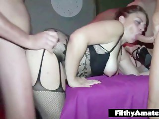 Wife Sluts find cocks in the private club!