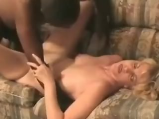 Hot Blond Wife Fucks BBC and hubby Clean