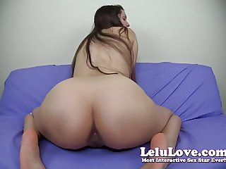 Lelu Love-Naked Twerking Oily Ass JOI