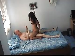 Mature Dude With Young Hooker